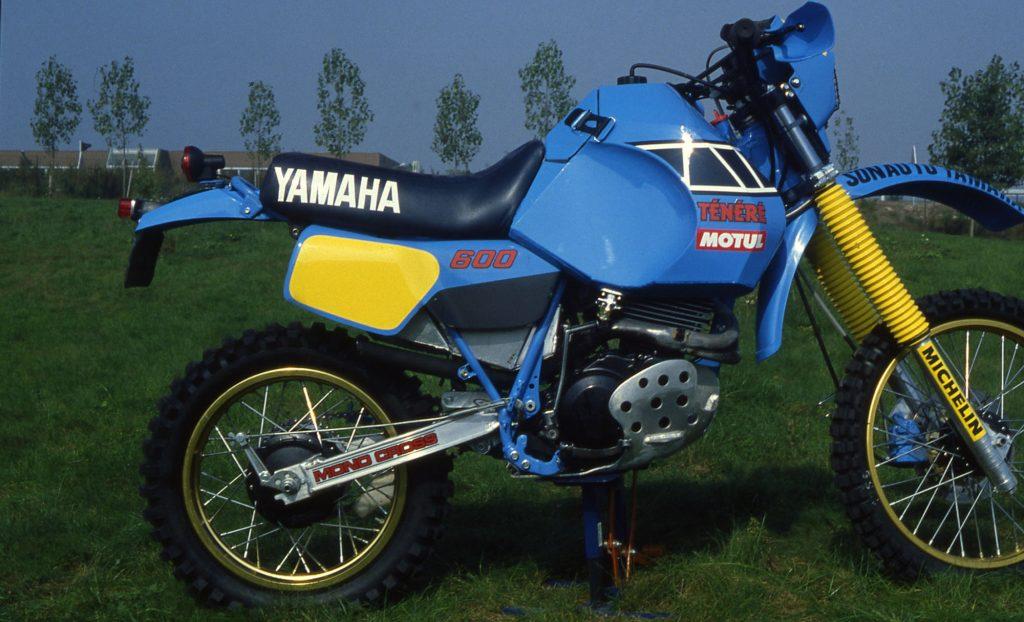 1985: XT600Z with Paris-Dakar preparation