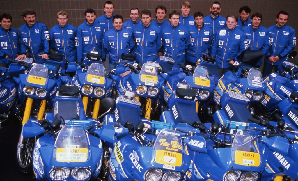 1989: Marathon Team on XT600Z's